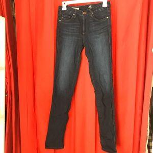 AG Jeans The Prima Mid Rise Cigarette Jeans